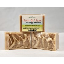 Neem and Clean Soap - 4oz bar