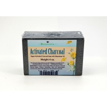 Activated Charcoal Vegan Cleansing Bar - 4 oz.