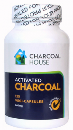 Activated Charcoal - 125 Capsules